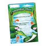 60 Page 'Tremendous Effort' Pond Scene A6 Praisepad