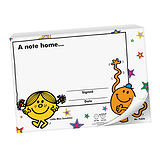 60 Page 'A Note Home' Mr Men & Little Miss A6 Praisepad