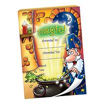 60 Page 'Magic' Wizard Scene A6 Praisepad