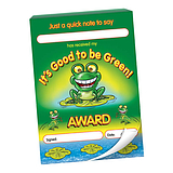 60 Page Good to be Green Award A6 Praisepad