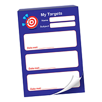60 Page My Targets A6 Praisepad