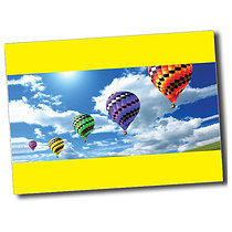 A6 Personalised  Hot Air Balloon Postcard