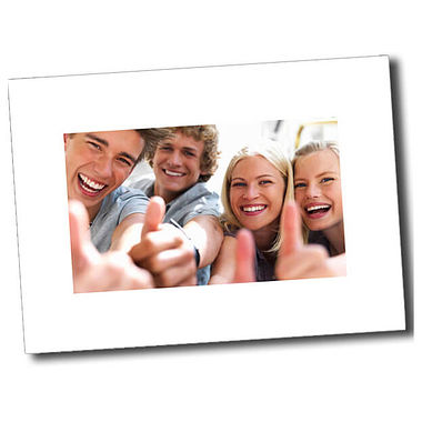 Personalised Thumbs Up Postcard - White (A6)