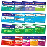 Pack of 17 A4 Literacy Punctuation Card Posters