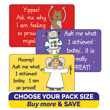 Pedagogs Ask Me Stickers (46mm x 30mm)