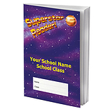 Personalised Reading Record Book - Superstar Reader (A5 - 40 Pages)