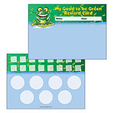 Pack of 30 A5 Good to be Green Sticker Saver Reward Cards