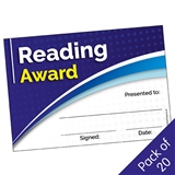 Reading Award Certificates (20 Certificates - A5)