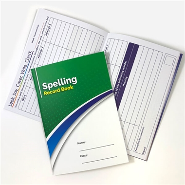Spelling Book - Look Cover Write Check Record (A5 - 56 Pages)