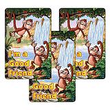 Sheet of 32 I'm a Good Friend 46mm x 30mm Stickers