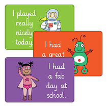 Sheet of 32 Mixed Pedagogs 46mm x 30mm Stickers