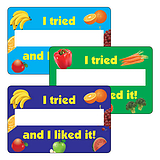 I Tried And I Liked It Stickers - Fruit (32 per sheet - 46mm x 30mm)