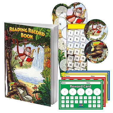 Jungle Reading Value Pack incl. 100 Reading Record books