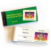 Book of 100 Easy-Tear Aliens Raffle Tickets