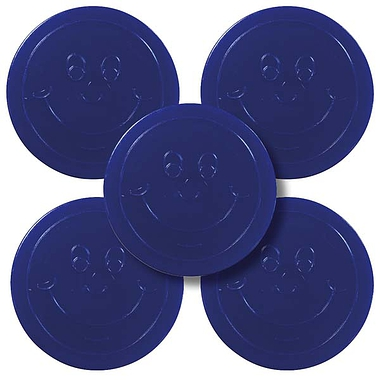 Plastic Token (50 Blue Tokens - 35mm)