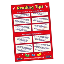 Reading Tips Paper Poster (A2 - 620mm x 420mm)