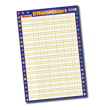 Sticker Collector Effort Chart (A2 - 620mm x 420mm)
