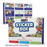 Plastic Sticker Box