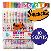 Recycled Scented Coloured Pencils Pack of 10