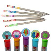 Recycled Scented Graphite Pencils Pack of 5