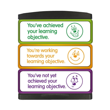 Learning Objectives 3-in-1 Stakz Stamper (44mm x 13mm per brick)