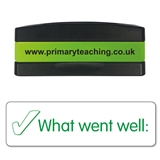 What Went Well Stakz Stamper - Green Ink (44mm x 13mm)