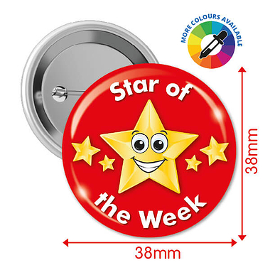 Star of the Week Badges (10 Badges)