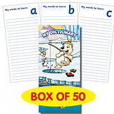 Pack of 50 Polar Themed Spelling Book Dictionary