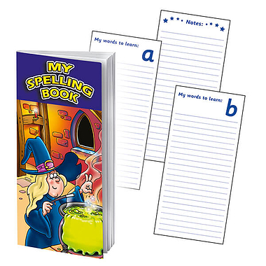 Magic Themed Spelling Book Dictionary