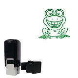 Frog 10mm Image Mini Pre-inked Stamper