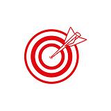 Target 10mm Image Mini Pre-inked Stamper
