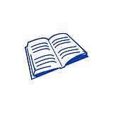 Book 10mm Image Mini Pre-inked Stamper