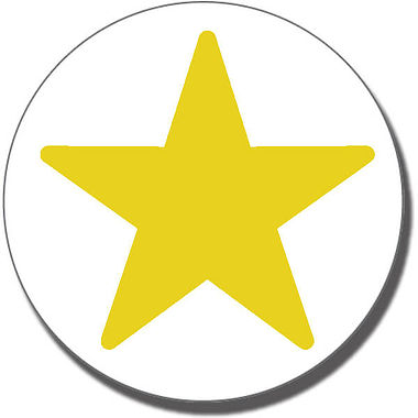 Gold Star Stamper (25mm)