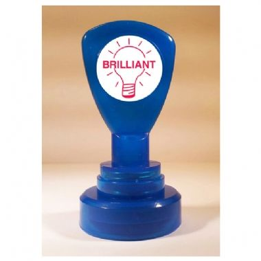 Brilliant Lightbulb Pre-inked Stamper