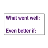 What Went Well Stamper - Purple (42mm x 22mm)