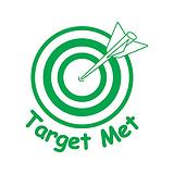 Target Met Pre-inked Stamper