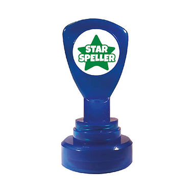 Star Speller' Stamper - Green Ink (21mm)