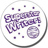 Superstar Writer Stamper - Purple Ink (25mm)