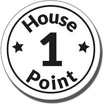 1 House Point Pre-inked Marking Stamper