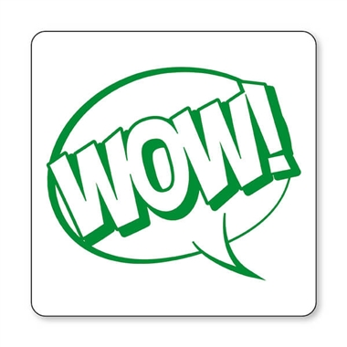 WOW! Speech Bubble Stamper - Green Ink (25mm)