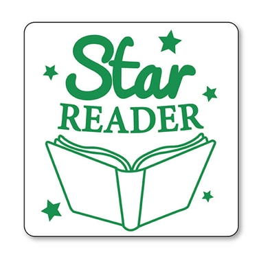 Star Reader Stamper - Green Ink (25mm)