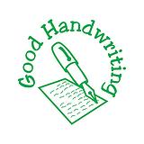 Good Handwriting Pre-inked Stamper