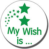 My Wish is' Pre-inked Stamper