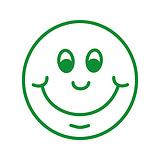 Smiley Face Pre-inked Stamper