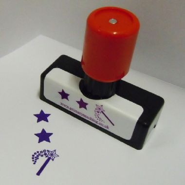 Two Stars and a Wish Stamper (40mm x 14mm)