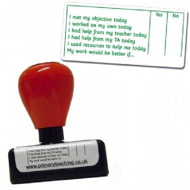 Self Assessment  Stamper Green Ink (72mm x 34mm)