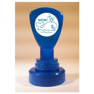 Wow Stamper - Blue Ink (25mm)