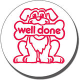 Well Done Dog Pre-inked Stamper