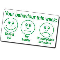 Your Behaviour This Week Expressions Pre-inked Stamper