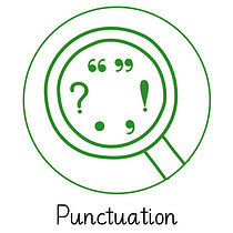 Pedagogs Marking Stamper - Punctuation